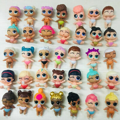 6PCS LOL Surprise Series Glitter 1 2 3 Lils Dolls for kids Gifts Toys no repeat