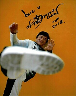 Jackie Chan signed Photograph 2018