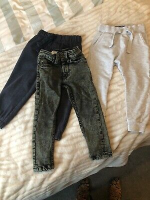 Next Skinny Jeans And Skinny Joggers Bundle Age 2-3