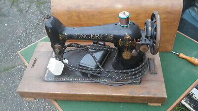 vintage sewing VINTAGE RETRO KITSCH LARGE SINGER ELECTRIC SEWING MACHINE CASED