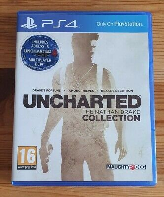 Uncharted: The Nathan Drake Collection (PS4) -- Pre-Owned