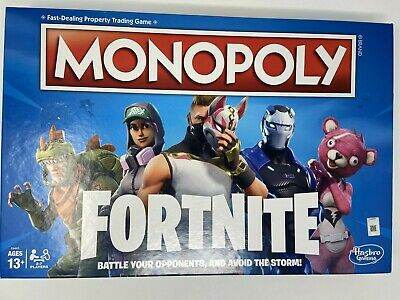 Monopoly: Fortnite Edition Board Game Inspired By Fortnite Video Game Ages 13+