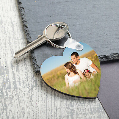 Personalised Photo Keyring Chain Mothers Day Gifts for Grandma Nanny Print