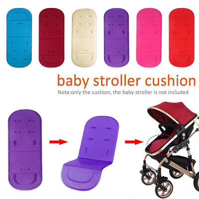Baby Stroller Seat Liner Pram Cushion Padding Crawl Pushchair CarSeat Mat Soft o