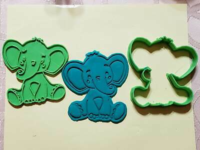 Baby Elephant 102 Cookie Cutter