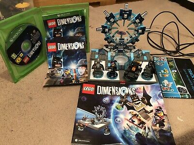 Xbox One Lego Dimensions Starter Pack 100% complete with game and figures
