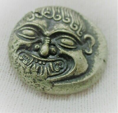 Ancient Greek Ar Silver Stater Coin Macedonia Neapolis Rare