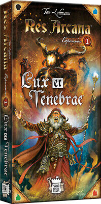 Res Arcana Lux et Tenebrae Expansion Game Brand New Factory Sealed NIB Asmodee