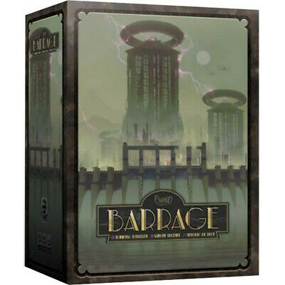 Barrage Board Game Brand New Factory Sealed NIB Asmodee Editions