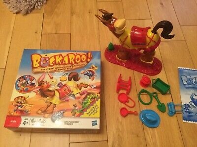 Buckaroo Board Game by Hasbro Age 4 Plus Boxed with instructions MB Hasbro