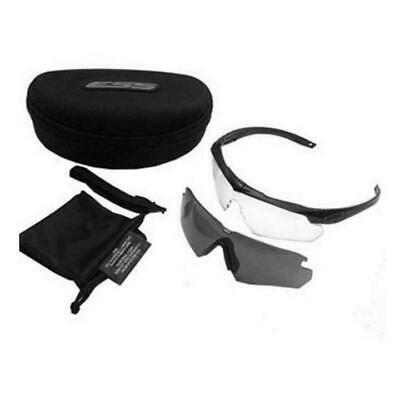 ESS Crossbow APEL Eye Protection Sunglasses Kit - with Clear and Smoke Gray Lens