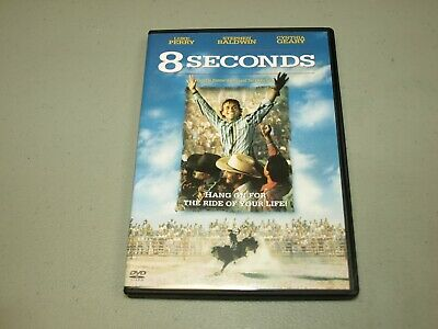 8 Seconds (Wide/Fullscreen DVD) Luke Perry, Cynthia Geary, Stephen Baldwin RARE