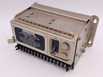 Minster Cycle-Mite SCRB-58 Eddy Current Clutch Control BUL 490-0003 Untested