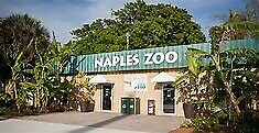 4 Admissions to the Naples Zoo at Caribbean Gardens FREE SHIPPING