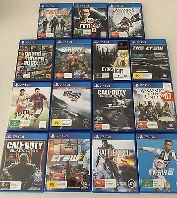 Playstation 4 Games **Pick from the list** (PS4, Sony)