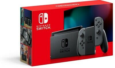 Neu Nintendo Switch V2 1.1 Konsole Grey Laptop 1080 Touchscreen Italien 2019