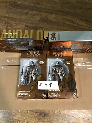 Authentic Star Wars The MANDALORIAN Black Series - Carbonized Graphite (Rare)