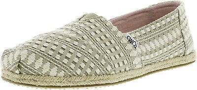 Toms Women's Classic Rope Sole Ankle-High Fabric Slip-On Shoes