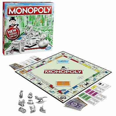 Original Monopoly Board Game Classic Latest Design Traditional Inc Cat Boxed