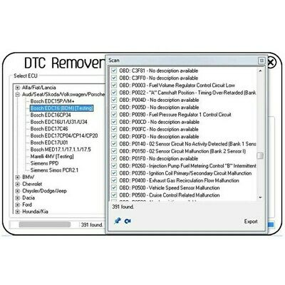 Dtc remover 1.8.5.0 infinite activator Edc17,16,15,dtc off. Direct link download