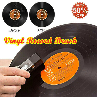 Portable Record Player Cleaning Kit Phonograph LP Vinyl Cleaner With Small Brush