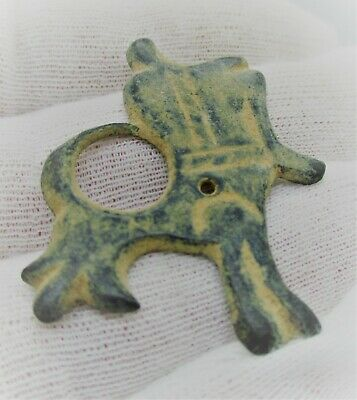 Detector Finds Ancient Roman Bronze Animal Pendant Wearable