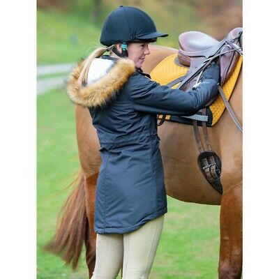 Shires Ladies Aubrion Winter Highwood Waterproof Padded Parka Horse Riding Coat