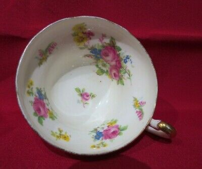 Fine Bone China Floral Teacup - Very Pretty
