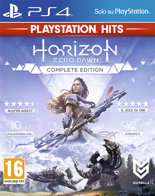 Video game PS4 Horizon Zero Dawn Complete Edition PS Hits ENG Sony PlayStation 4