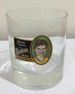 beenleigh rum legends glass johnny warren