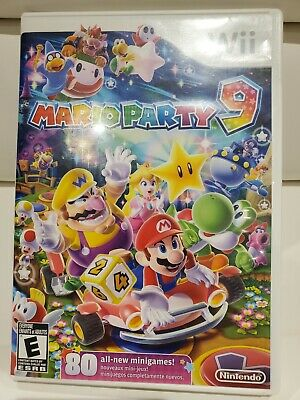 Mario Party 9 (Wii, 2012) CIB - Fast Shipping