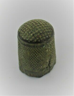 Post Medieval Detector Finds Ancient Thimble