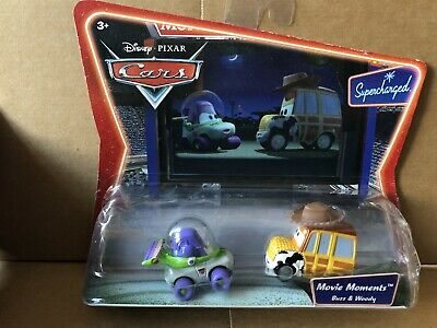 DISNEY CARS DIECAST - Buzz & Woody - Movie Moments -Toy Story - Combined Postage