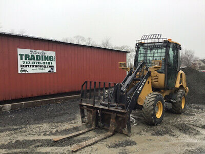 2012 Volvo L20F-P 4x4 Compact Wheel Loader w/ Bucket & Forks New Tires!!