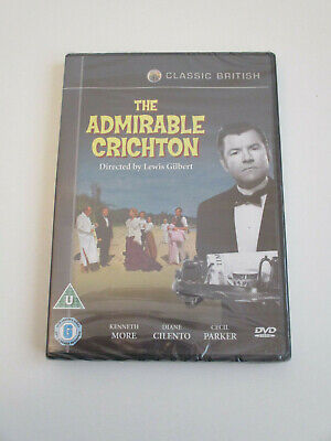 New & Sealed Dvd - The Admirable Crichton (1957) Kenneth More Diane Cilento