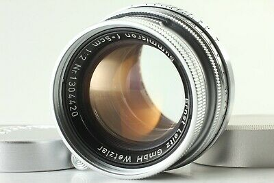 【Near Mint】 Leica Leitz Summicron 50mm F/2 L39 Screw L Mount From JAPAN #6057