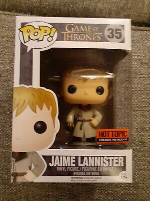 Funko pop Jaime Lannister Gold Hand #35 Game of Thrones HT Excl.