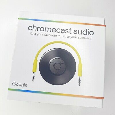Google Chromecast Audio Media Streamer (2nd generation) - Brand new and sealed