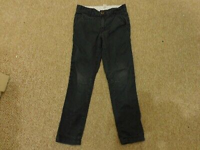 George Boys Dark Blue Skinny Jeans Adjustable Waist 5-6 years