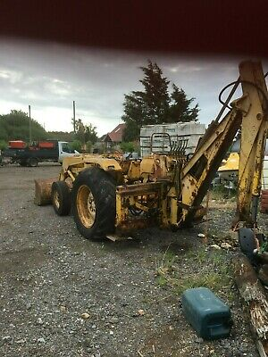 massey ferguson backhoe loader digger