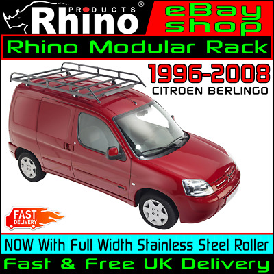 Citroen Berlingo Roof Rack Bars With Ladder Roller Rhino Modular For 1996-2008