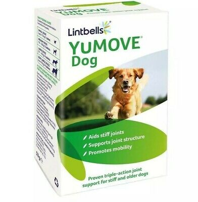 Lintbells YuMOVE Dog Joint Supplement for Stiff Dogs 60 Tablets FREE P+P