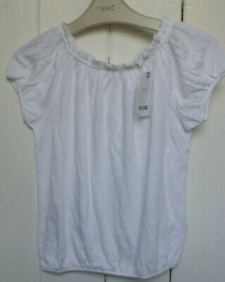 New Next girls Blouse/top White age 6 years