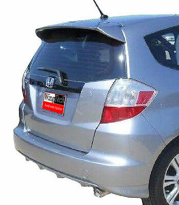 Honda Fit 2009-2014 Factory Style Roof Mount Rear Spoiler Primer Finish