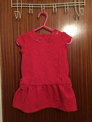 STUNNING GENUINE TED BAKER BABY GIRLS PARTY DRESS AGED 6-9m