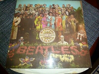 The Beatles ‎– Sgt. Pepper's Lonely Hearts Club Band  Parlophone ‎– PMC 7027  LP