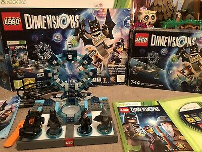 Xbox 360 Lego Dimensions Starter Pack 100% complete with game and figures