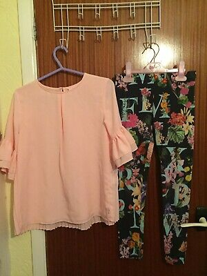 Stunning Genuine Ted Baker Patterned  Two Piece Outfit Aged 10 Years