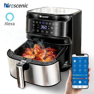Proscenic Alexa Friggitrice ad Aria Calda 5,5L Senza Olio LED Display Air Fryer
