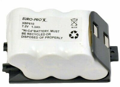 Euro-Pro 2 Pack Of Genuine OEM Replacement Batteries # EU-36000-2PK
